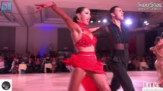 Part 1 Approach the Bar with DanceBeat! Manhattan 2018! Pro Latin! Manuel and Natalia!