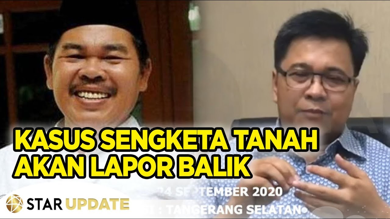 MUHAMMAD IDRIS, Terdakwa Kasus Sengketa Tanah Pelapor MAT SOLAR, Akan Lapor Balik -Star Update- 25/9