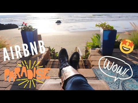 OUR FIRST AIRBNB EXPERIENCE - BEACH FRONT ROOM (STEPS FROM THE OCEAN!)