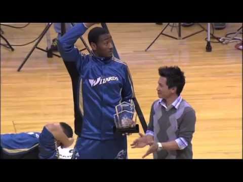 John Wall receives Rookie of the Month award for February 2011