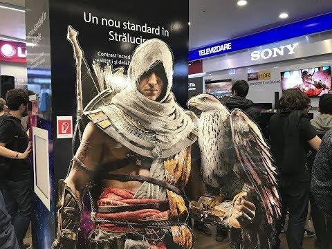Assassin's Creed Origins Lansare Media Galaxy Park Lake (27.10.2017)