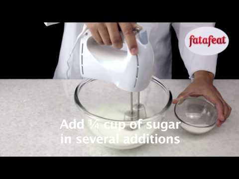 Lesson: Whipping Egg Whites With Sugar