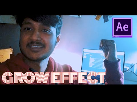 BENN TK  BUILDING GROWING EFFECT TUTORIAL- AFTER EFFECTS 2020