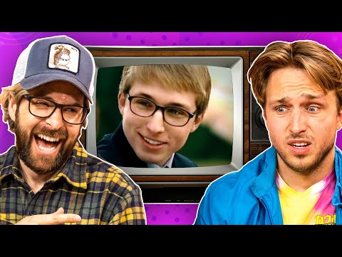 Reacting To Our Embarrassing Acting Gigs