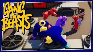 Gang Beasts - #205 - BOSS FIGHT!