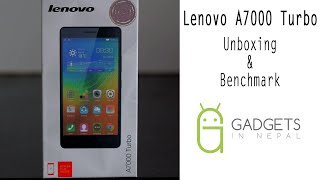 Lenovo A7000 Turbo Unboxing & Benchmark