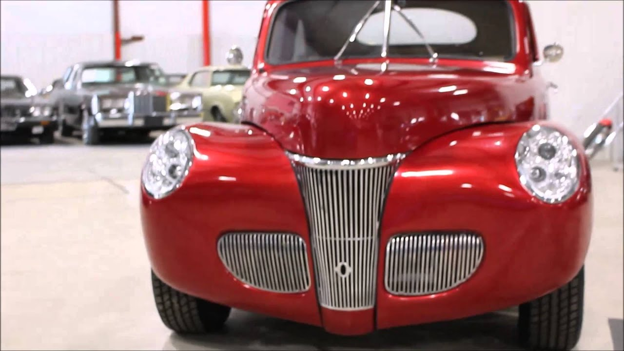 1941 Ford Coupe Youtube Red