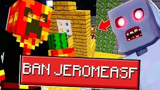 PRESTONPLAYZ BANS ME FROM GRANNY IN MINECRAFT!! | JeromeASF