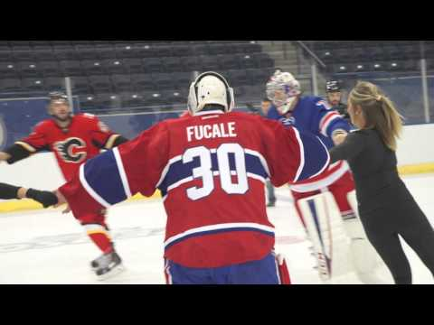 Upper Deck Pairs NHL Rookies with Figure Skaters
