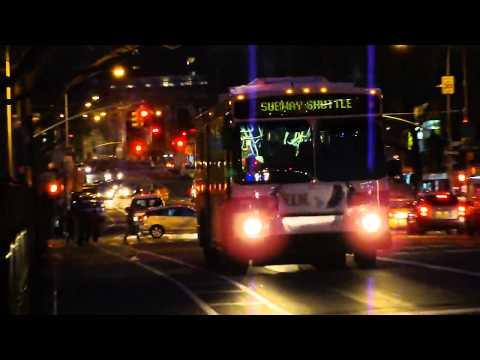 MTA New York City Bus : D Train Subway Shuttle Action [ Manhattan & Bronx Division ]