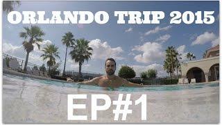 ORLANDO TRIP 2015 EP#1: AEROPORTO, CHURRASCO, PISCINA, FAMÍLIA!