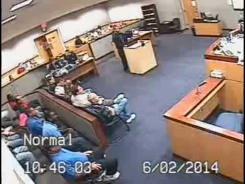 BREVARD JUDGE JOHN MURPHY  vs Andrew Weinstock FIGHT during court case