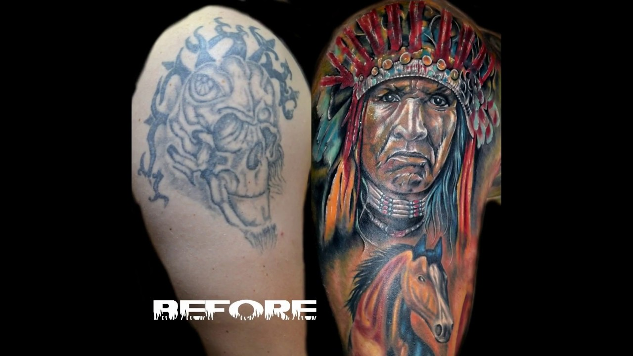 Best Tattoo Cover Ups part 1 - YouTube