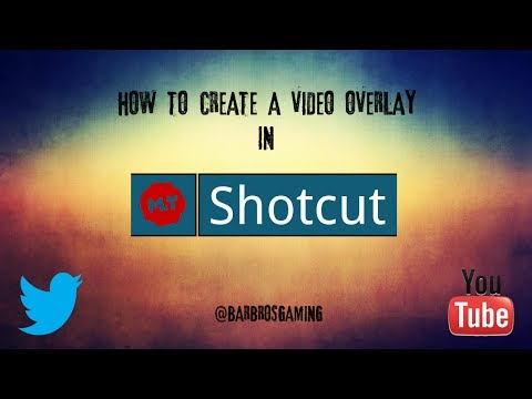 Shotcut: How To Overlay Video