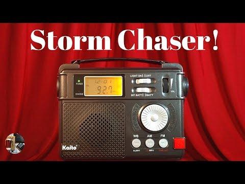 Storm Chaser! Kaito KA346 AM FM NOAA Radio Review