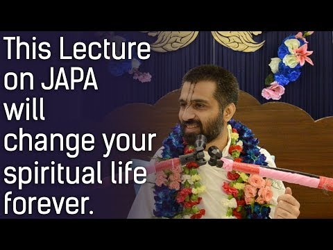 Revolutionary Lecture on JAPA