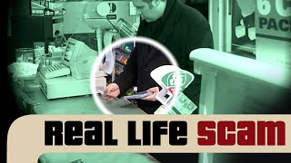 Real Life Scam: Fake Money