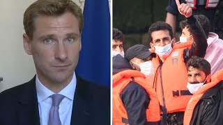 video: Politics latest news: UK and France working 'at pace' to 'completely' cut off migrant crossing route, says minister