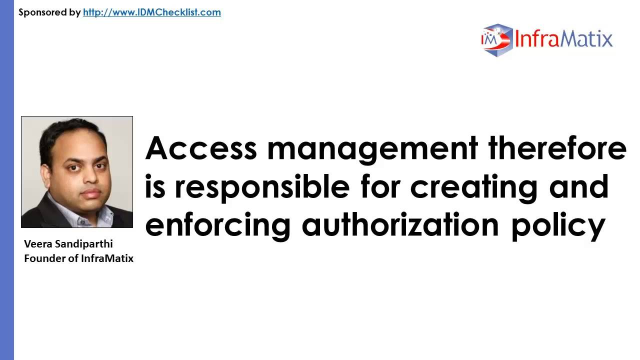 How IDM Differs From Access Management