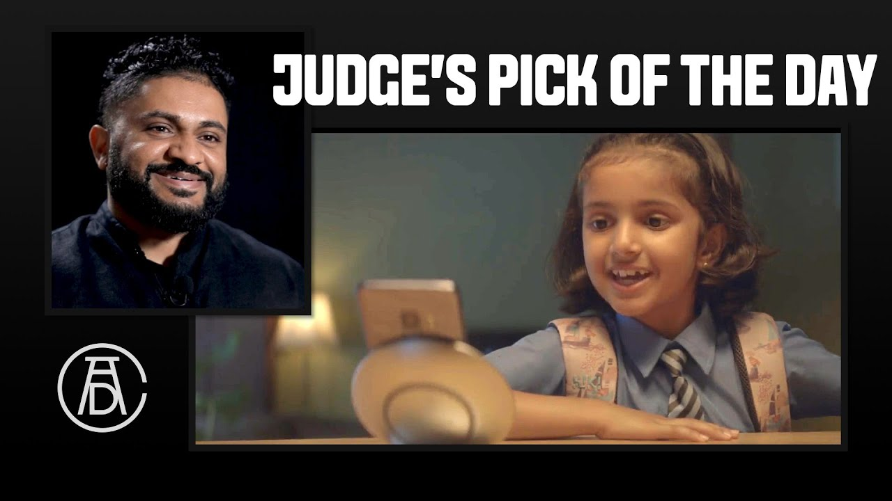 Leo Burnett S Anthony Chelvanathan S Judging Pick Of The Day