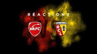 Les réactions après Valenciennes - Lens