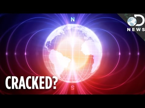 The Earth's Magnetic Shield Cracked, Are We Doomed?