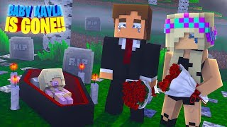 OUR BABY DAUGHTER IS GONE Minecraft Little Donny Adventures