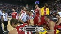 Basketball-WM 2010 Türkei - Serbien 83:82 (FIBA 2010 Halbfinale)