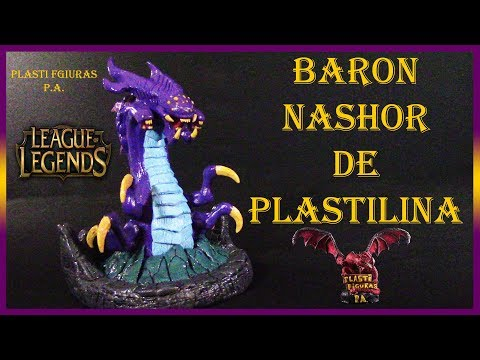 Como Hacer a Baron Nashor de Plastilina (League of Legends) / How to Make Baron Nashor with Clay