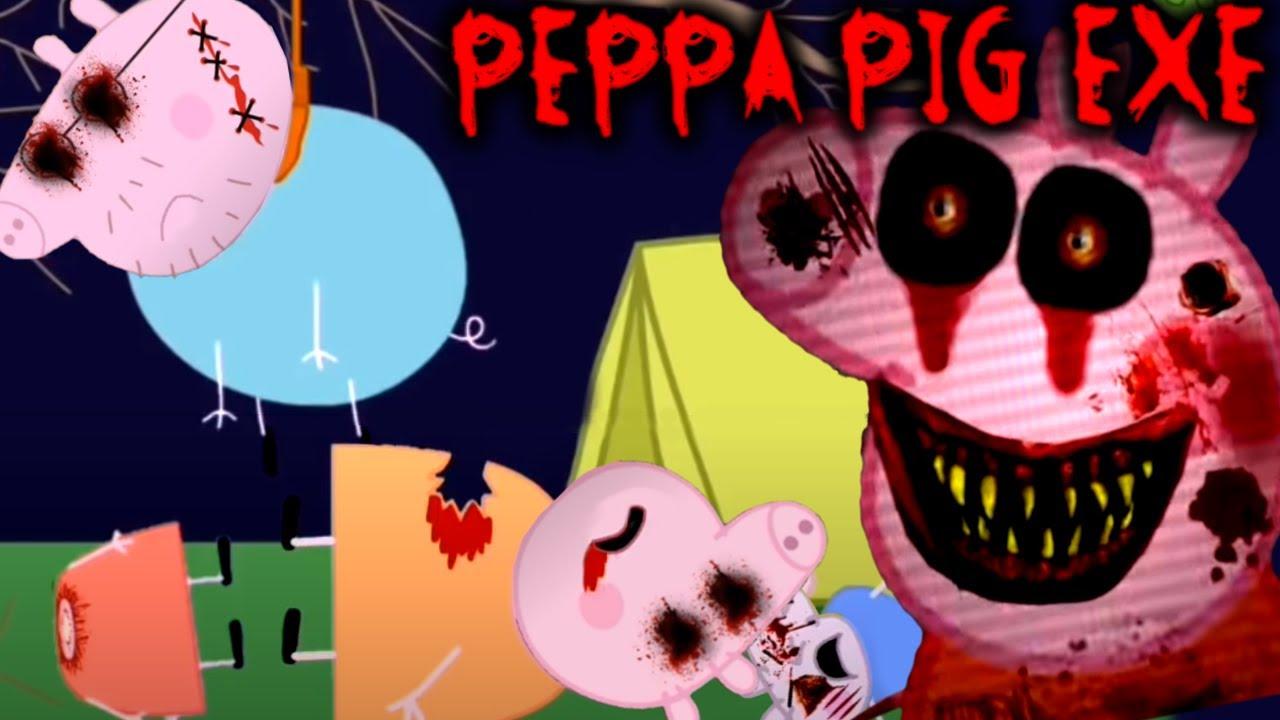 Even More Peppa Pig Exe Horror Movie Animation Parodies Luigikid Reacts Youtube