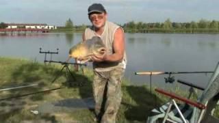 VERBA-tó pecáim. Рибалка на КОРОПА
