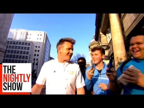 Gordon Ramsay's LIVE Kitchen Nightmare in London!