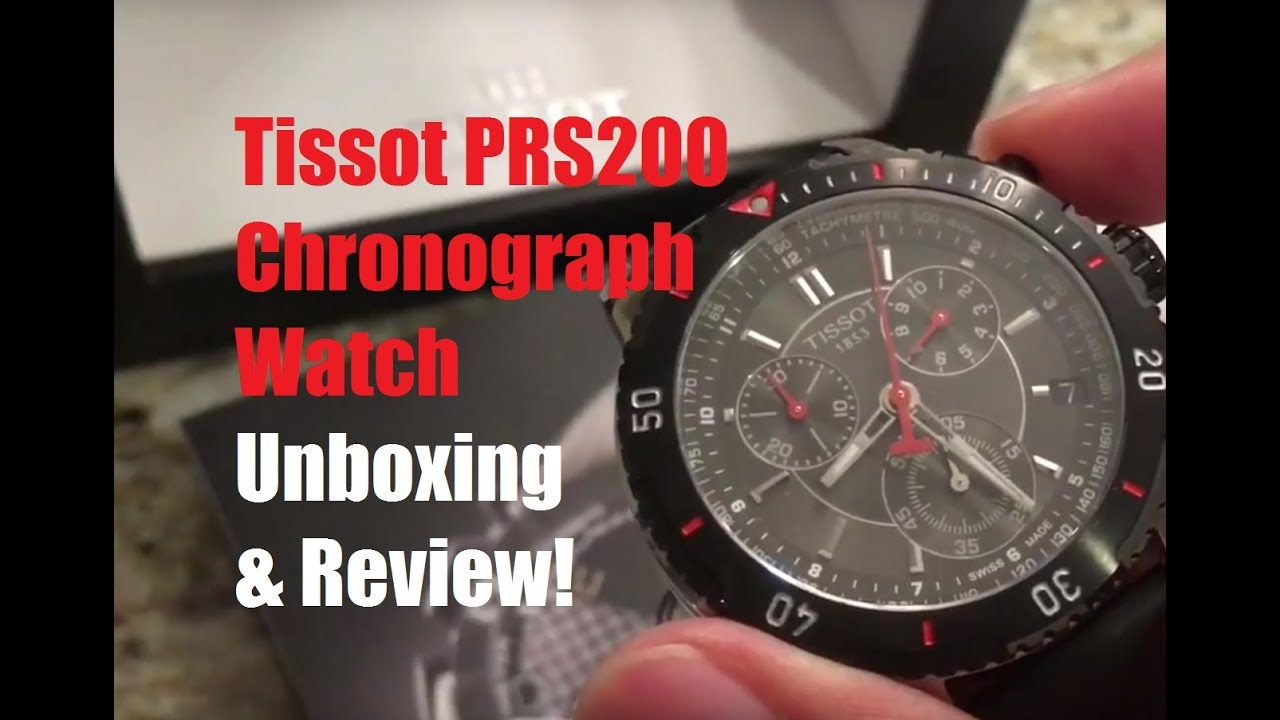 48a0d9de3fd Unboxing and Review   279 Tissot PRS 200 Chronograph Watch by Edward Jay