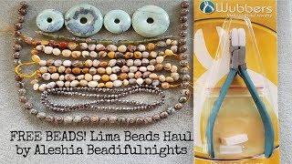FREE BEADS! Lima Beads Haul
