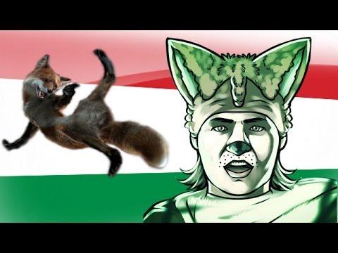 Ylvis - The Fox  (Eredeti klip magyar szinkronnal)
