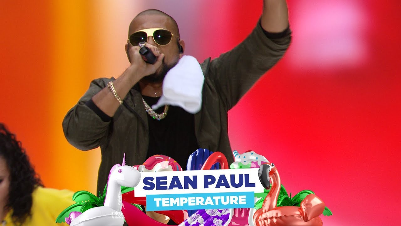 Sean Paul - 'Temperature' (Live at Capital's Summertime Ball 2018)