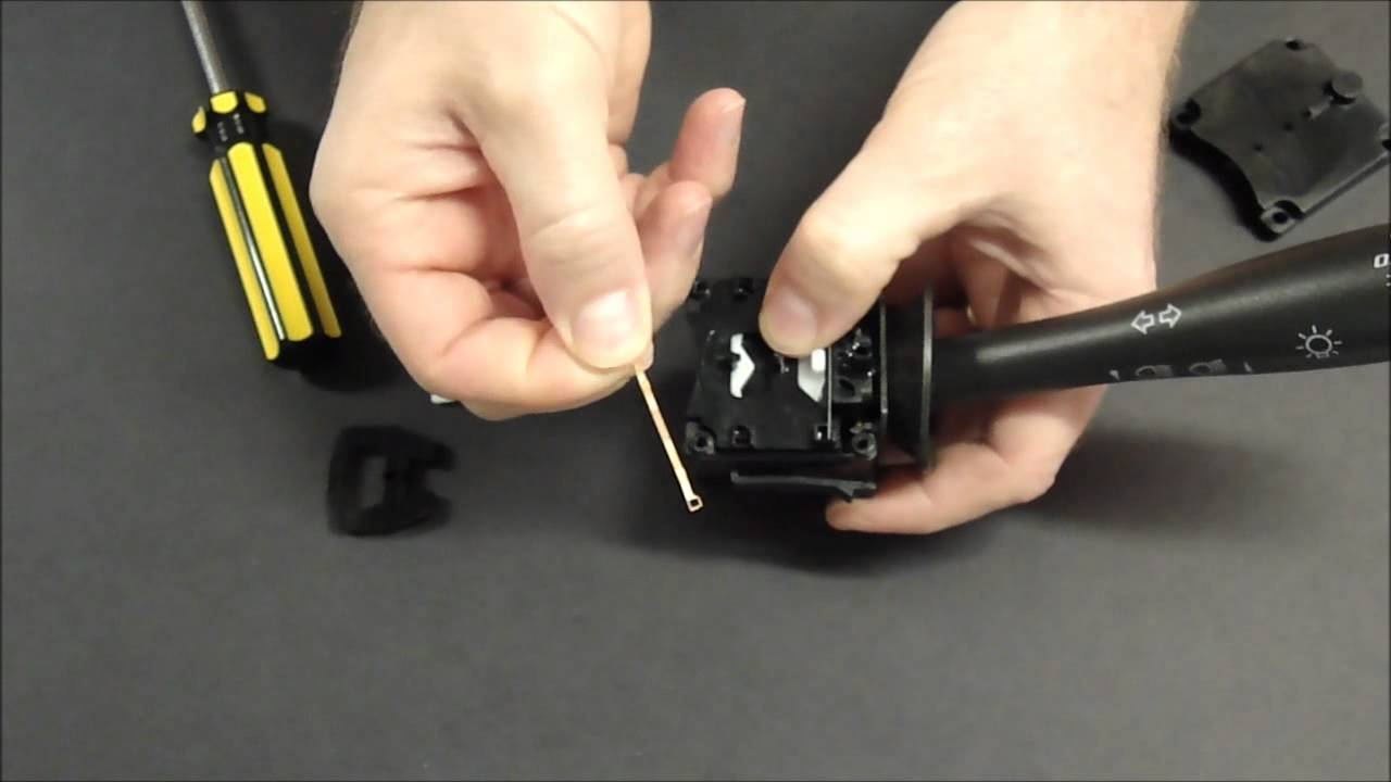 small resolution of chevrolet hhr turn signal won t cancel lever 10 minute easy fix youtube