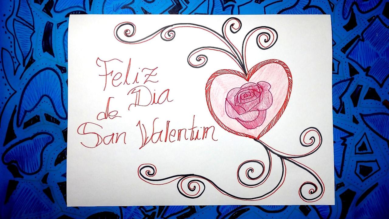 Dibujos Para San Valentin 33 Dibujar Un Corazón Con Letras Youtube
