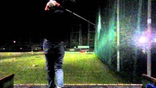 [120FPS] ゴルフスイング 5W