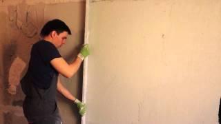 Штукатурка стен по маякам(В этом видео ролике мы увидим, как ровно по штукатурить стены по маяках. А именно штукатурка стен будет прои..., 2015-07-08T18:58:52.000Z)