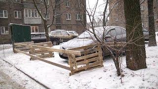 Конфликт из-за парковки у детсада