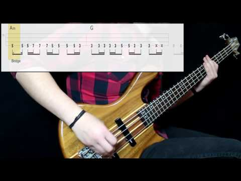 Red Hot Chili Peppers - The Zephyr Song (Bass Only) (Play Along Tabs In Video)