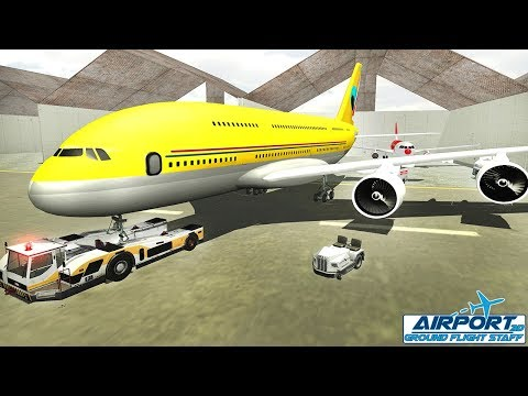 Airport Ground Flight Staff 3D - Best Android Gameplay HD