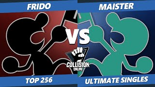 Collision Online Ultimate Top 256 - SSG | Maister (Game & Watch) Vs. OW | Frido (Game & Watch) SSBU