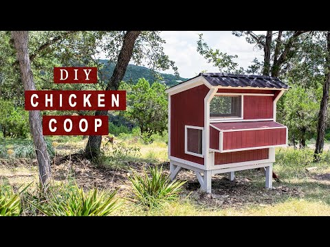 DIY Backyard Chicken Coop | How to Build - Part 1