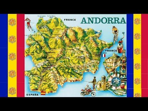 Maps Of Andorra