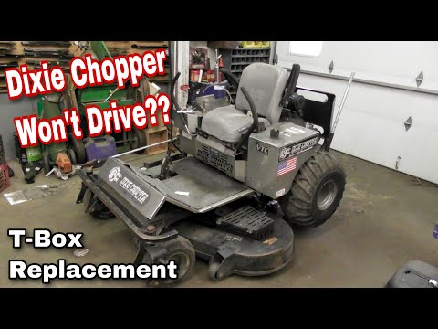 how to fix a dixie chopper that won\u0027t drive replacing the t boxhow to fix a dixie chopper that won\u0027t drive replacing the t box (gear box) with taryl youtube