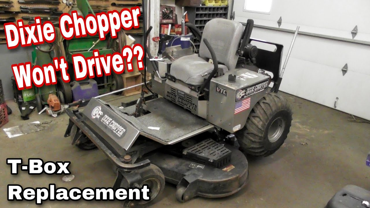 small resolution of how to fix a dixie chopper that won t drive replacing the t box rh youtube