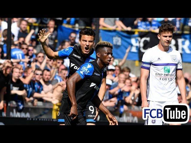 2017-2018 - Jupiler Pro League - PlayOff 1 - 07. Club Brugge - RSC Anderlecht 1-2