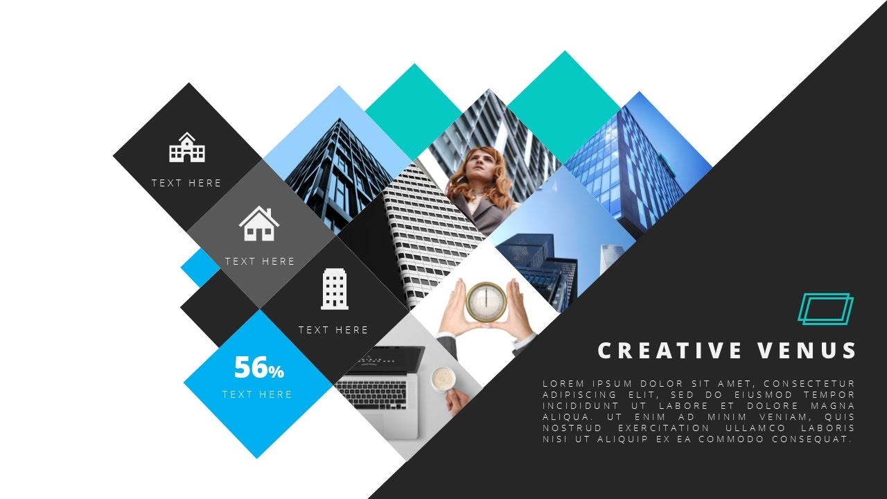how to design beautiful smart art slide template in microsoft, Presentation templates